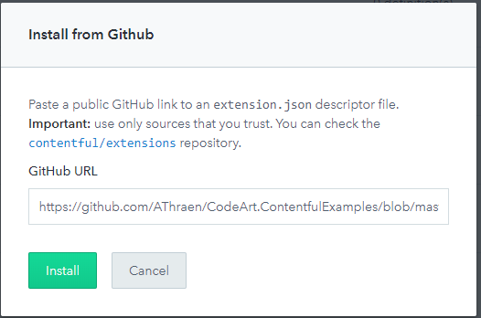 install from github.PNG